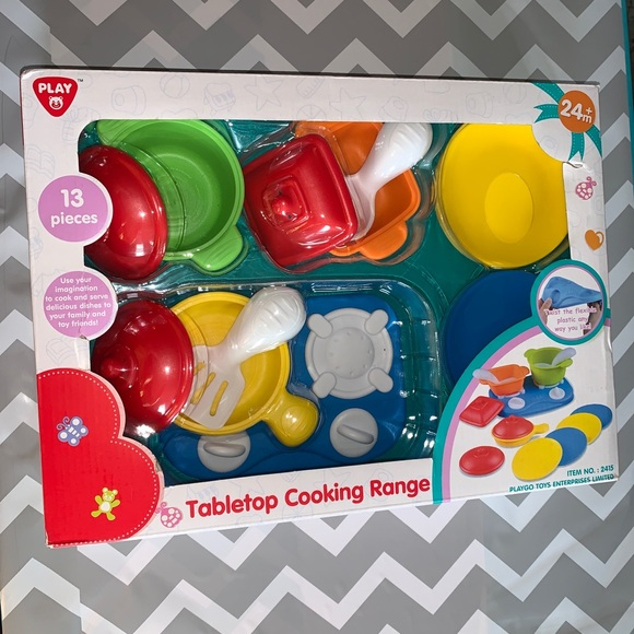 Playgo Toys Tabletop Cooking Range